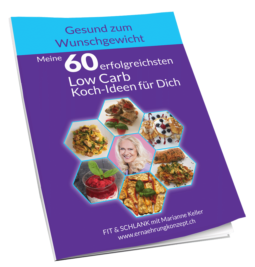 60 Low Carb Koch-Ideen für Dich